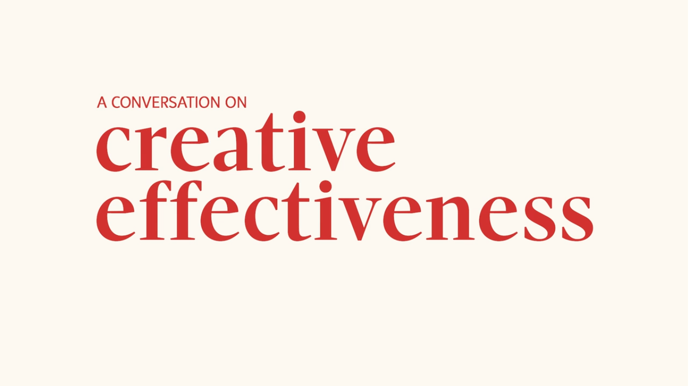 What's the Value of Creative Effectiveness?