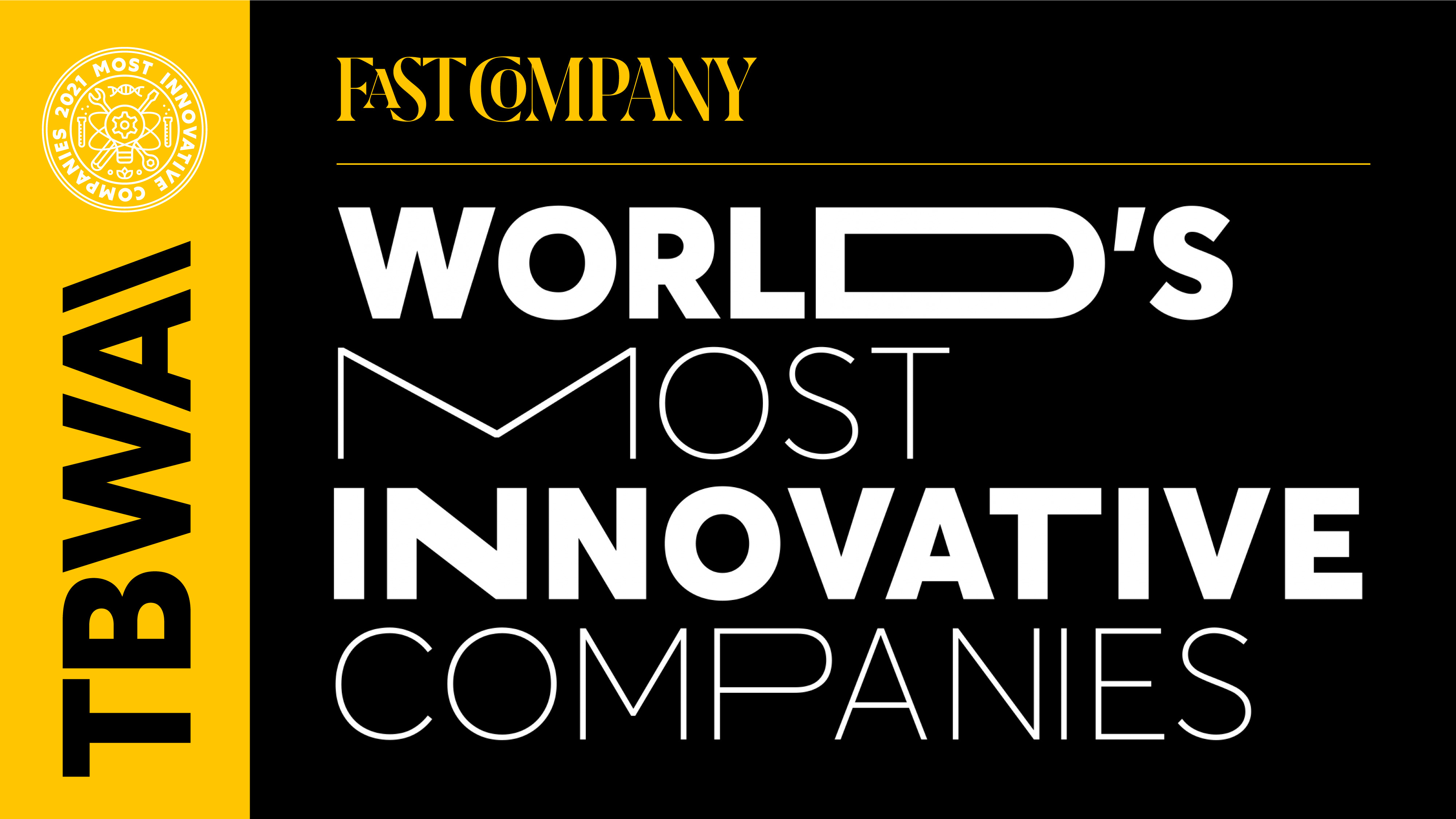 Fast Company Names TBWA One of the World's Most Innovative Companies for the Third Year in a Row