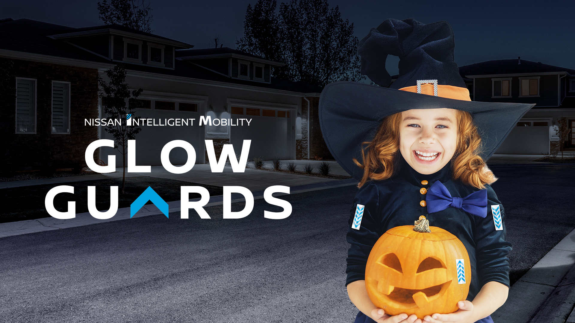 "Nissan Canada Guards Against Halloween Mishaps With ""Glow Guards"""