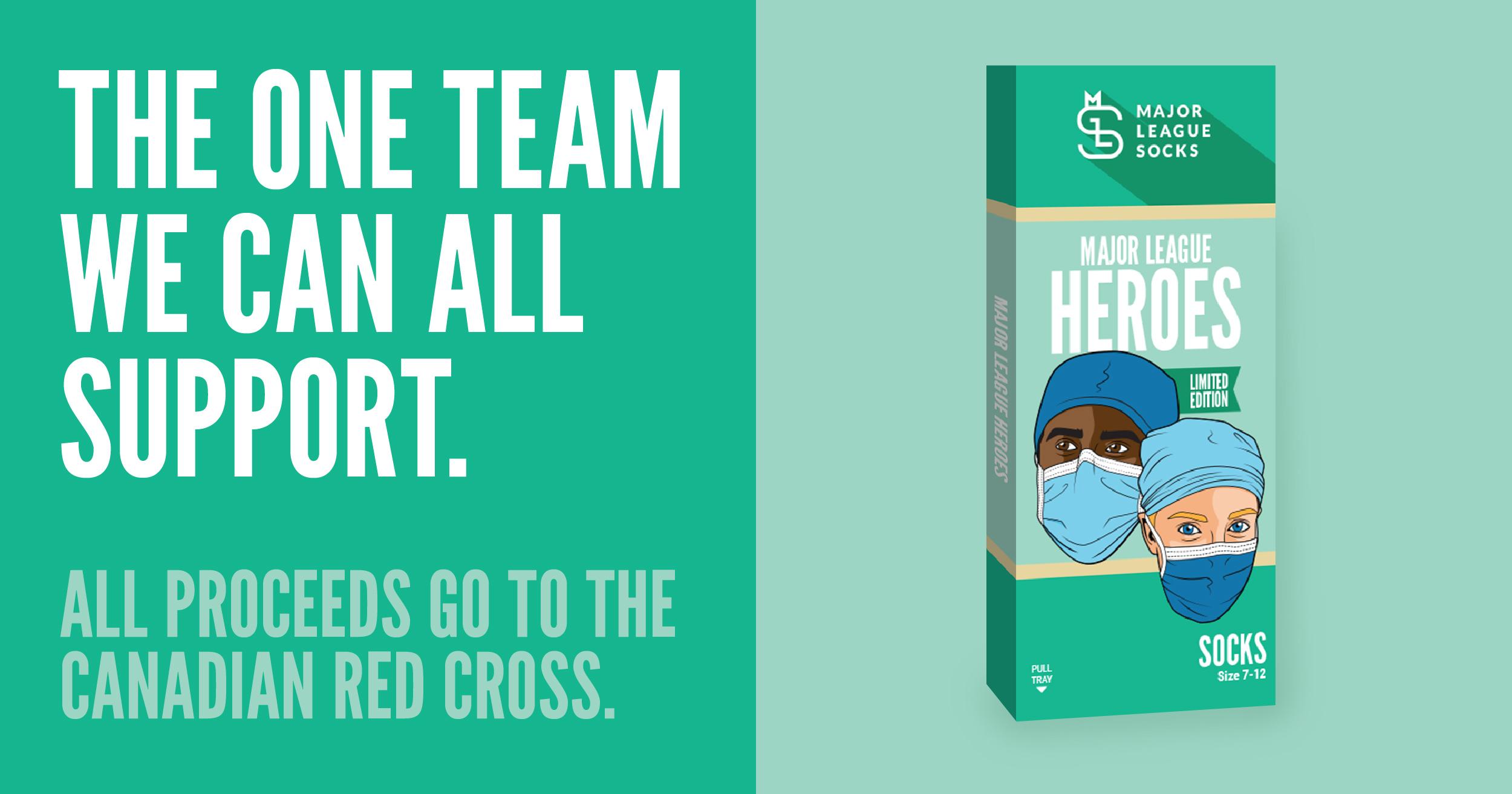 Major League Socks Introduces Limited-Edition Major League Heroes Product Line
