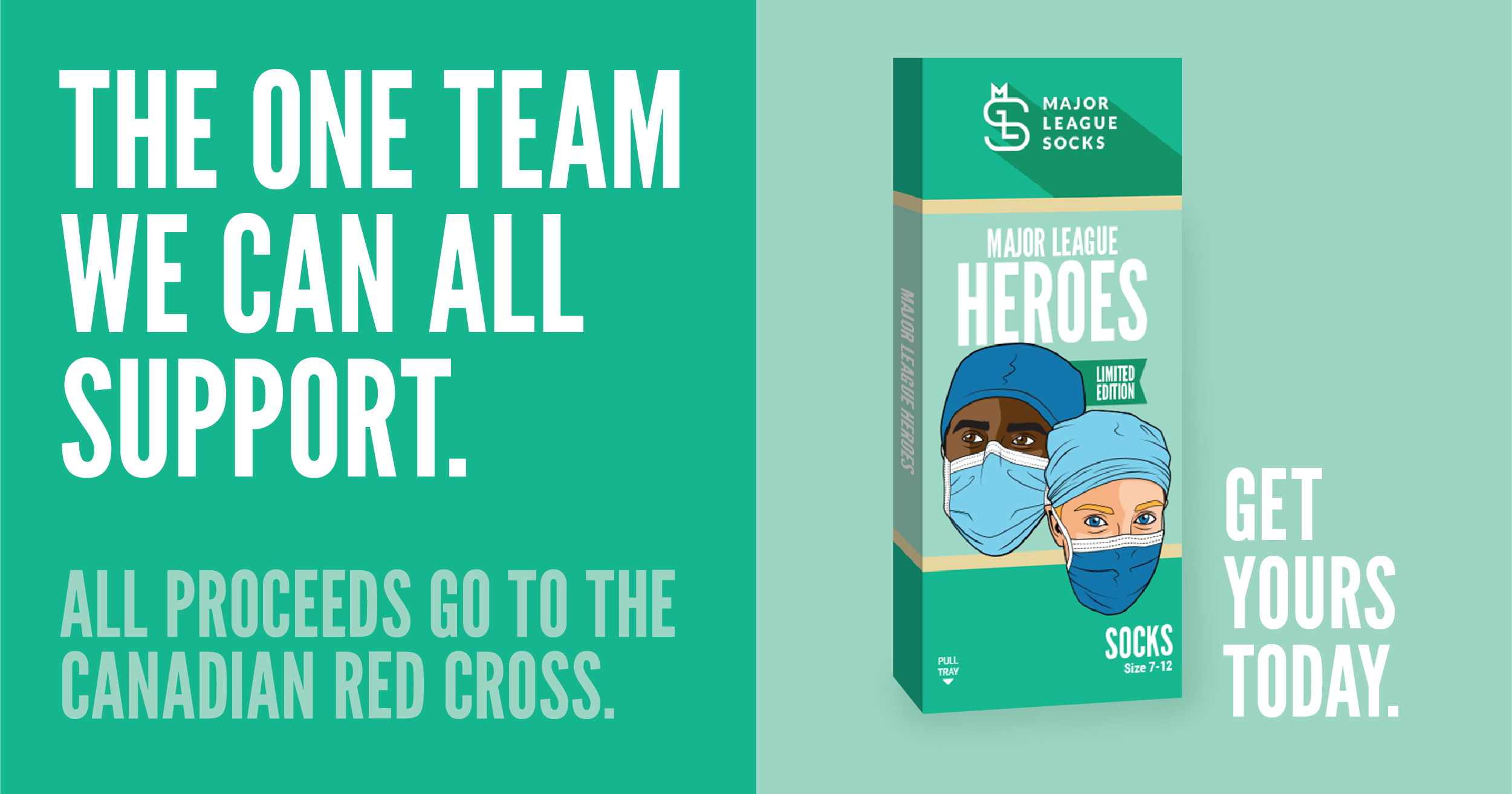 CityNews Toronto: Major League Socks Honouring Health Care Workers With Hero Socks