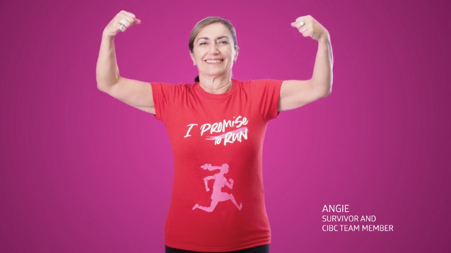 The Message: CIBC Run For the Cure Tells Survivors' Stories in 'I Promise' Campaign