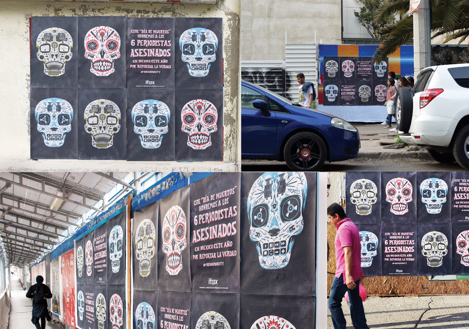 "Juniper Park\TBWA Claims Bronze Clio for ""Day of the Dead Journalists"" Campaign"