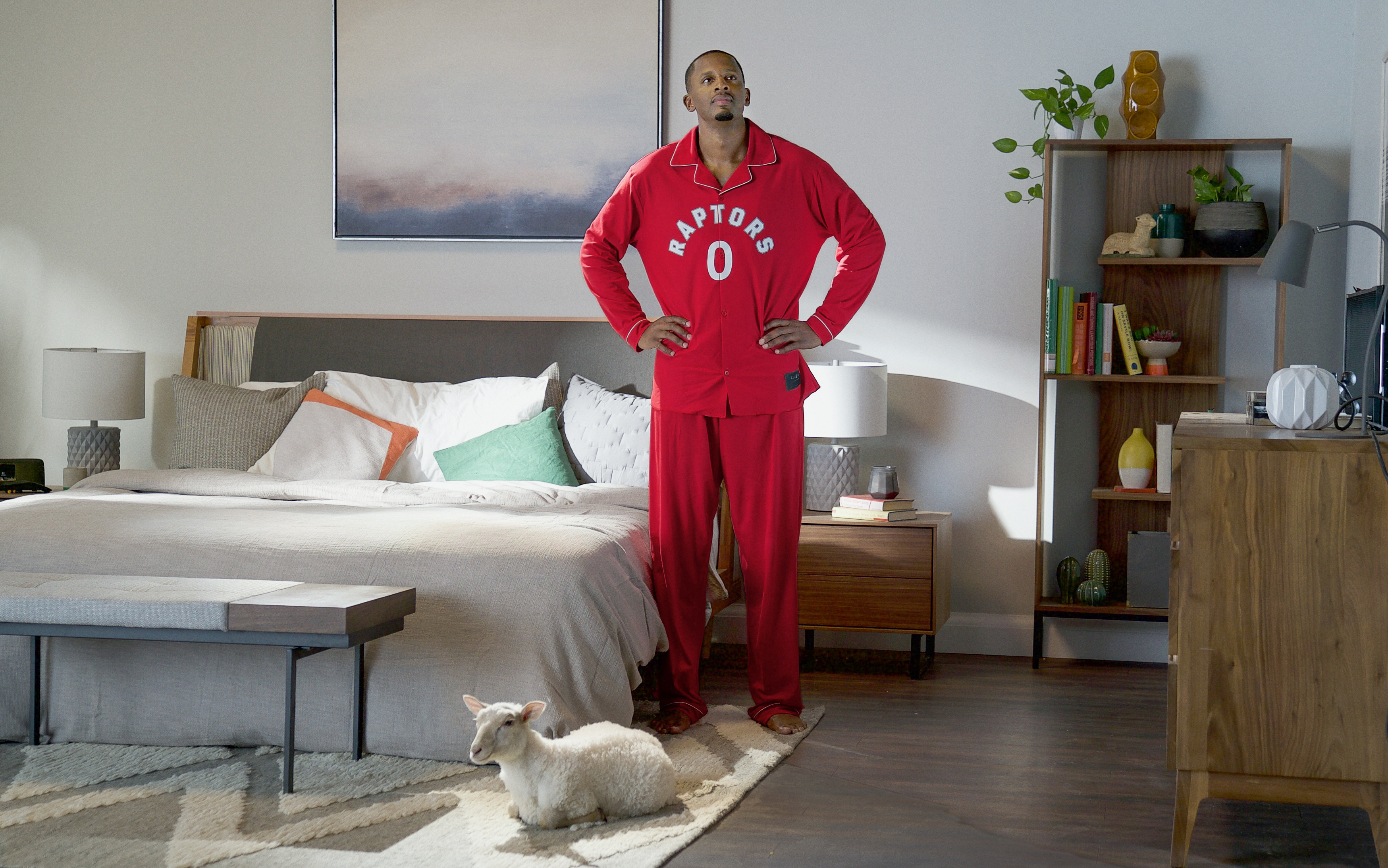 GoDaddy and Juniper Park\TBWA bring coziness to their Toronto Raptors partnership